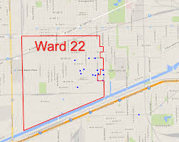 Map Of Chicago Wards by 22nd Ward Potholes Were Slated For Fix Prior To Alderman U0027s Stunt