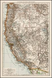 Map Of Arizona And California by United States Western Washington Oregon Idaho California