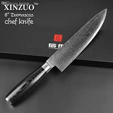 damascus kitchen knives wholesale cocx 8 chef knife 73 layers damascus kitchen knives