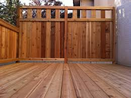 Screen Ideas For Backyard Privacy by Deck Privacy Fencing Ideas Decking Designs And Decking Ideas By