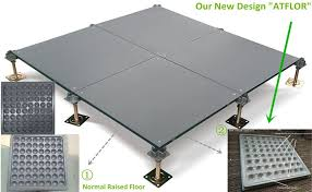 Access Floor Pedestal Ceramic Covering Adjustable Pedestal Access Floor System Raised