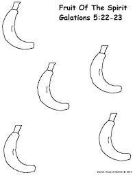 coloring banana coloring pages