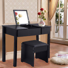 Black Vanity Table With Mirror Mirrored Vanity Table Ebay