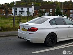 matte white bmw bmw m5 f10 m performance edition 18 october 2012 autogespot