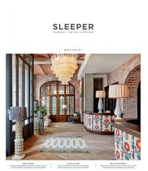 Home Design Story Review Sleeper Global Hotel Design March April 2017 Orca Holding