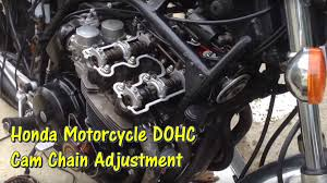 1979 to mid 1980s honda dohc motorcycle cam chain tensioner