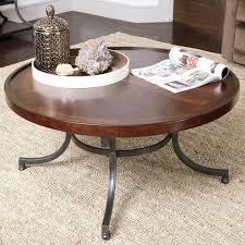bradshaw round coffee table hayneedle
