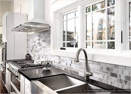 backsplash for white kitchens white kitchen cabinets with pleasing black and white kitchen