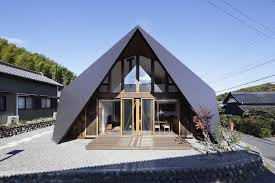 origami inspired japanese house by tsc architects