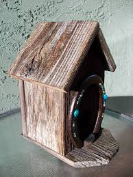 hobbit hole outhouse birdhouse home decor rustic roosts