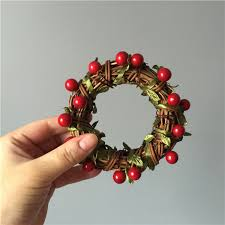 decorative wreaths for the home diy craft materials package mini wreath creative christmas door