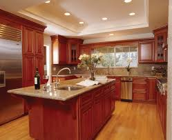 best color to paint kitchen with cherry cabinets cherry cabinets ideas on foter