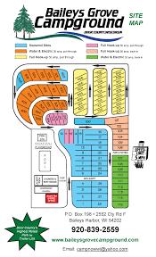 Map Of Door County Wisconsin by Baileys Grove Travel Park Campground In Baileys Harbor Wisconsin