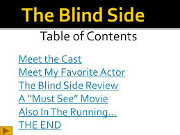 Movie The Blind Side Cast The Oscars Awarded Annually By The Academy Of Motion Picture Arts