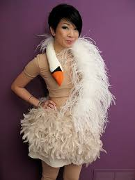 swan dress syl and sam tutorial bjork s swan dress