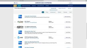 american express business card login how to use card linked reward offers with my american express card
