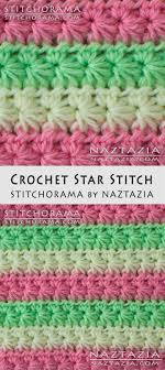 crochet pattern using star stitch crochet star stitch stitchorama by naztazia free pattern diy