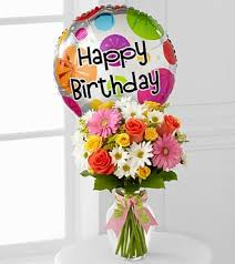 Flowers For Birthday The Birthday Cheer Bouquet Elk City Ok Florist Same Day Flower
