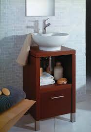 Bathroom Vanities For Vessel Sinks by Bathroom Modern Bathroom Remodeling Idea Using Small Brown