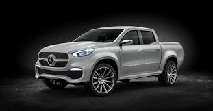 mercedes benz x class concepts preview 2017 production pickups