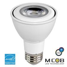 Led Night Light Bulb by Par20 Led Bulb 7 Watt Dimmable 50w Equiv 500 Lumens By Euri