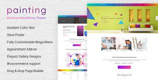 paint painting company wordpress theme by buddhathemes themeforest