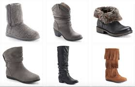 womens boots at kohls kohl s com s boots as low as 11 99 each
