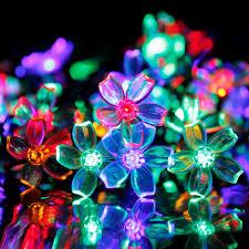 Decorative Led Lights For Home Amazon Com Solar Led String Lights Addlon Solar Decorative