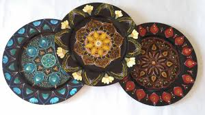 painted platters home decor and fashion decorative plates painted plates
