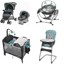 Travel Comfort Items Baby Gear Bundle Stroller Travel System And 12 Similar Items