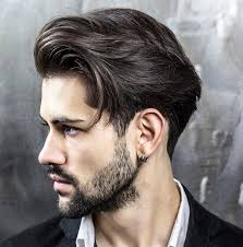 1 sided haircuts men straight hair hairstyles for men with straight and silky hair