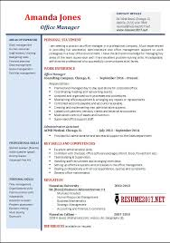 Director Resume Examples by Office Manager Resume Examples 2017 U2022