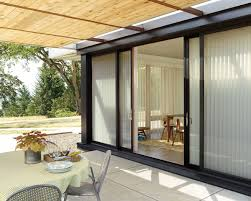 window treatments for kitchen sliding glass doors french door shades enjoy your patio