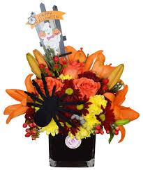 halloween floral centerpieces halloween party centerpiece order the best flowers online in