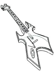 large guitar coloring page electric guitar coloring page guitar coloring pages guitar coloring