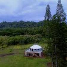 yurt on 10 acres in hawaii with electric water and sewer tiny