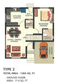 space saving house plans space efficient house plans two storied space saving 3 bedroom
