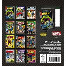 2018 easel desk calendar marvel comics official desk easel 2018 calendar danilo