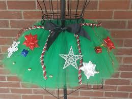 christmas tutu ugly sweater dress christmas tree