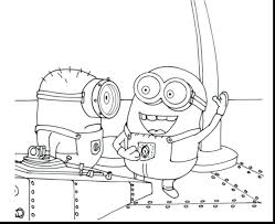 coloring pages printable minion coloring pages printable minion