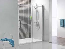 Shower Sliding Door Frameless Sliding Glass Shower Doors Crustpizza Decor The