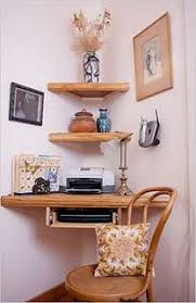 Small Desk With Pull Out Drawer Floating Corner Shelves Love The Corner Pull Out Drawer For