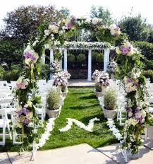 wedding arch greenery outdoor summer wedding arch with awesome greenery and florist design