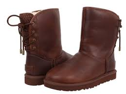 ugg boots australian leather ugg australia mariana leather boots in chestnut