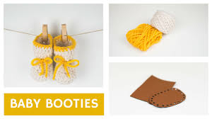 crochet baby shoes with a leather sole croby patterns youtube