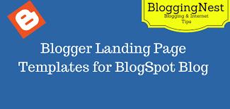 landing page templates for blogger blog spot templates 55 best free responsive blogger templates 2017