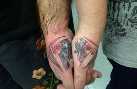 tattoo of queen and king 50 cute king and queen tattoo for couples dzinemag