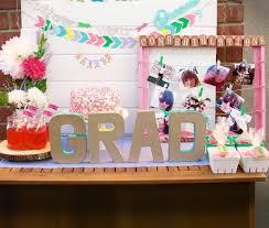 decor graduation decoration ideas with flowers as the theme