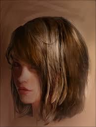 easy hair painting tutorial