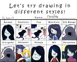 shonen hairstyles style meme marceline by natto ngooyen on deviantart